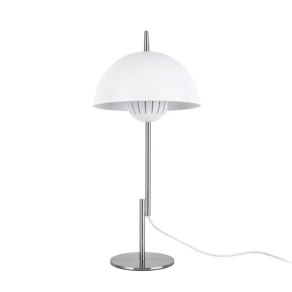 Leitmotiv tafellamp Sphere Top, Wit