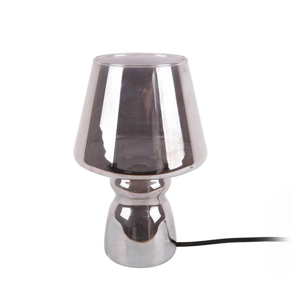 Leitmotiv tafellamp Classic Glass, Zilverkleurig (Chroom)