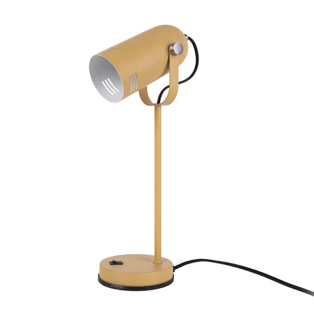 Leitmotiv Tafellamp Husk, Geel (Mosterdgeel)