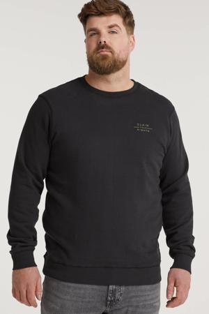 sweater Plus Size zwart