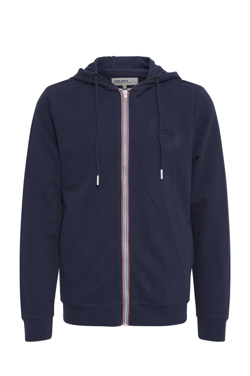 Blend Big vest Plus Size donkerblauw, Donkerblauw