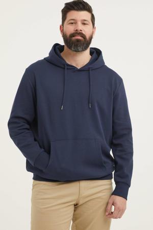 hoodie Plus Size donkerblauw
