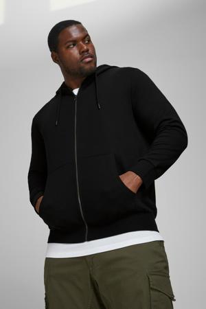 vest Plus Size zwart