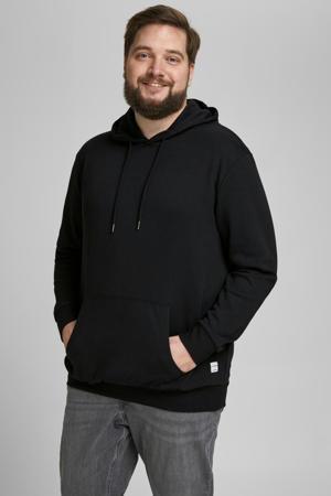 hoodie Plus Size zwart