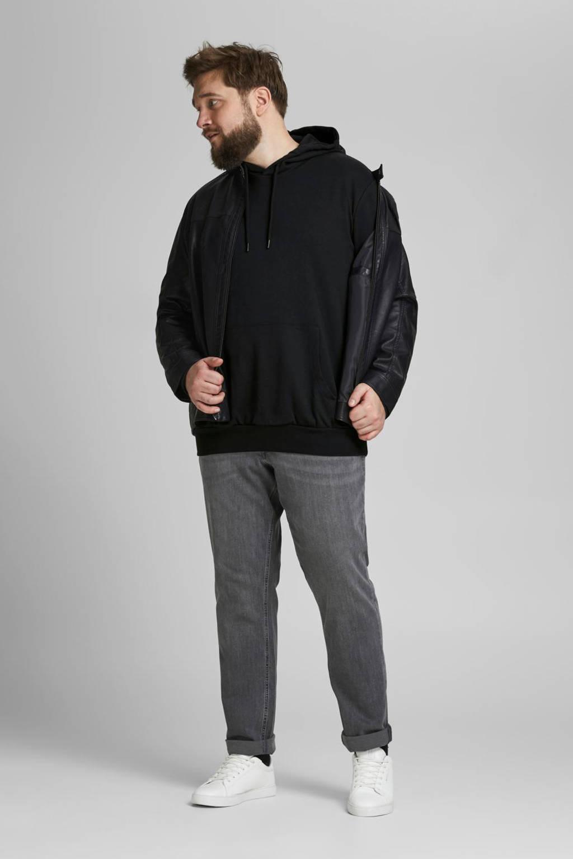 JACK & JONES PLUS SIZE hoodie Plus Size zwart, Zwart