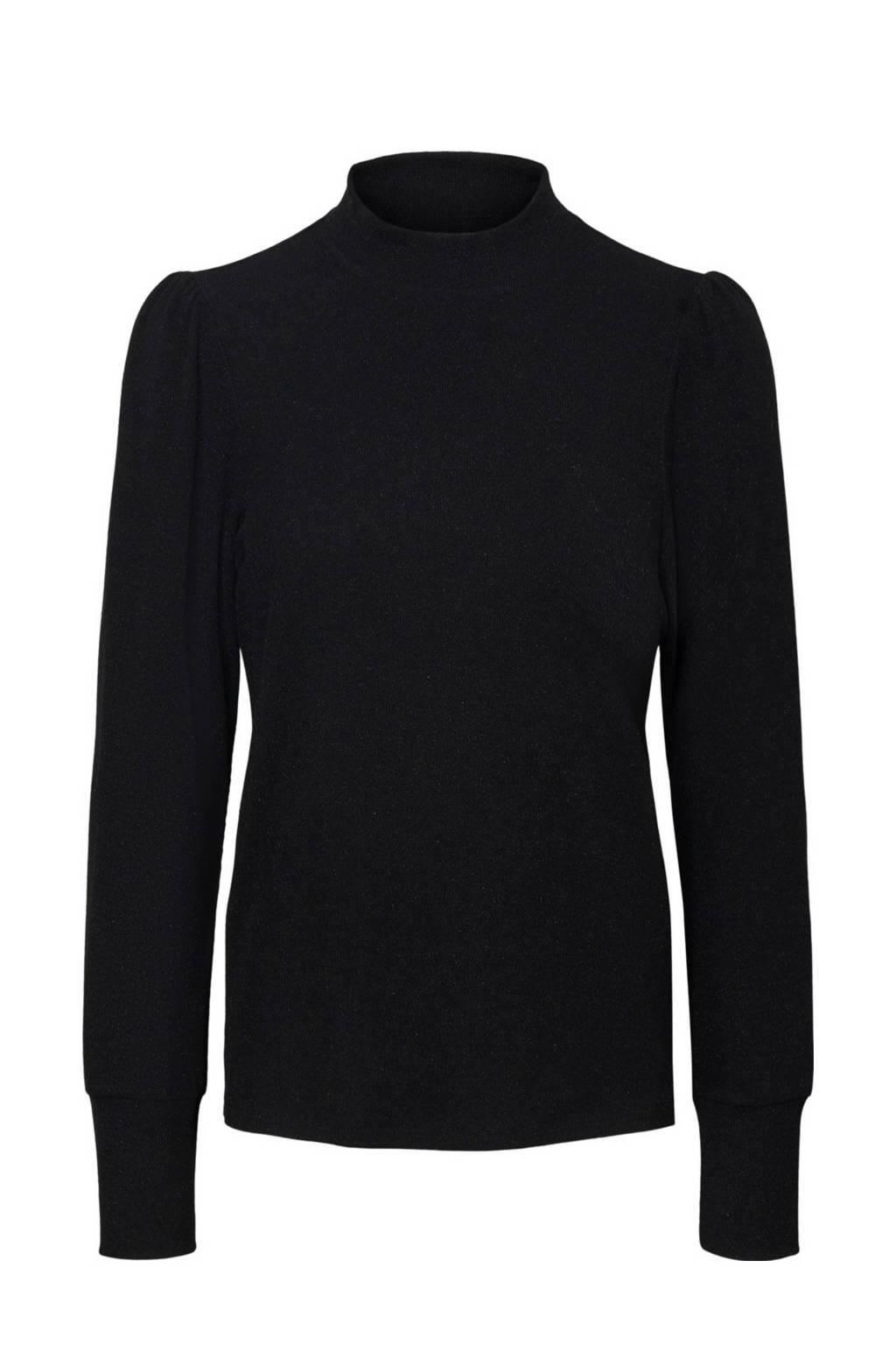 VERO MODA blouse VMBELLA top, Zwart