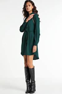 VERO MODA blousejurk VMBOA met ceintuur groen, Groen