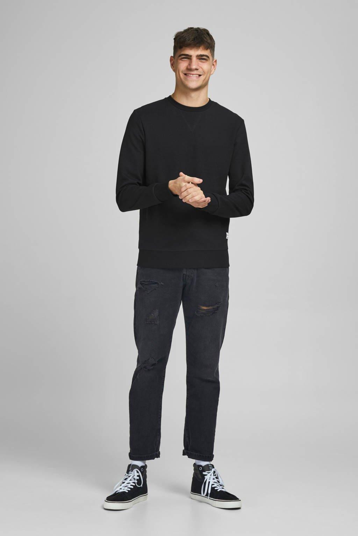 JACK & JONES ESSENTIALS sweater zwart, Zwart