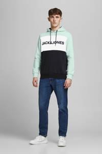 JACK & JONES ESSENTIALS regular fit hoodie licht turquoise, Licht turquoise