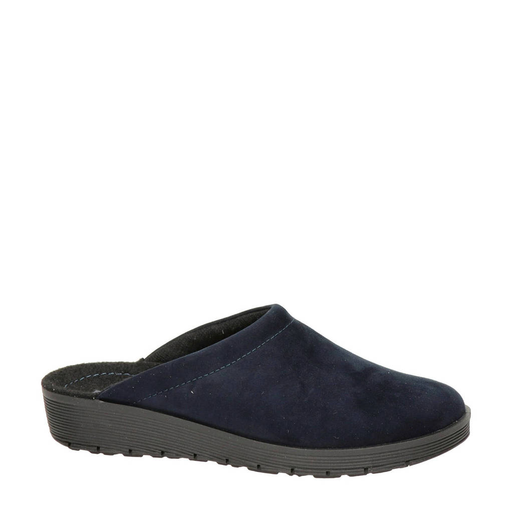 Rohde pantoffels donkerblauw, Donkerblauw