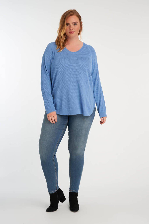 MS Mode trui lichtblauw, Lichtblauw