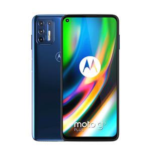 Moto G9 Plus smartphone (blauw)