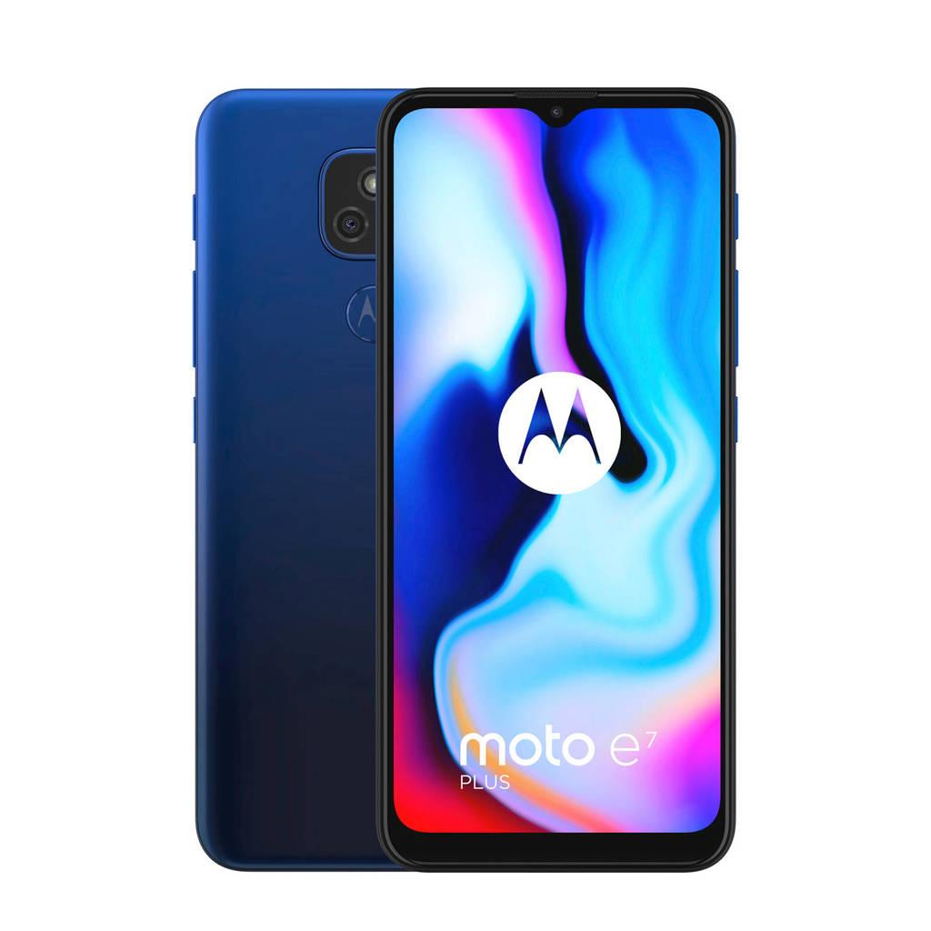 Motorola Moto E7 Plus smartphone (blauw), Blauw
