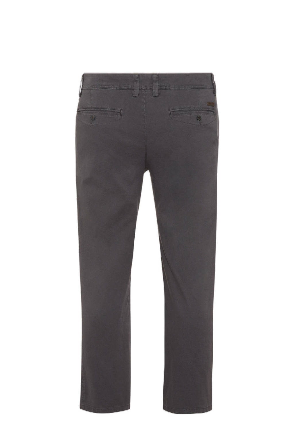 C&A XL regular fit chino antraciet, Antraciet