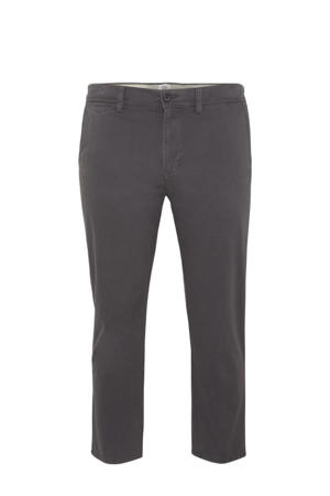 regular fit chino antraciet