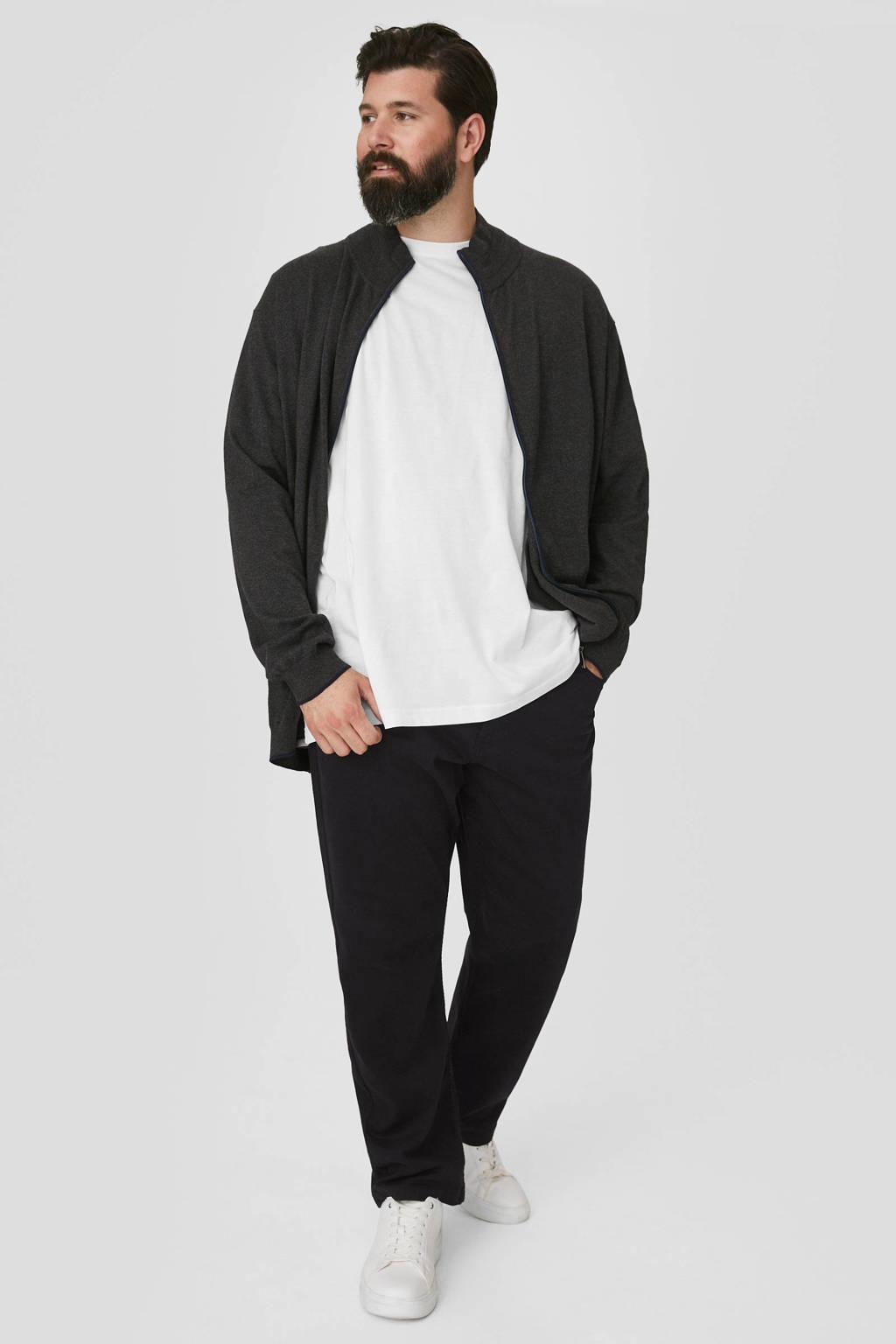 C&A XL regular fit broek zwart, Zwart