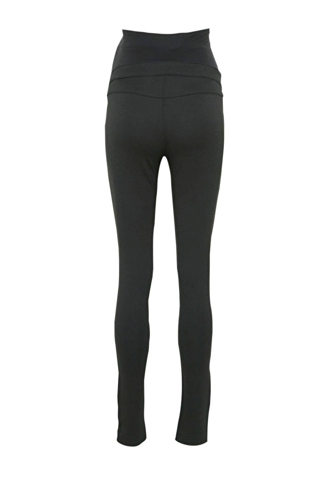 C&A Yessica low waist slim fit zwangerschapsbroek zwart, Zwart