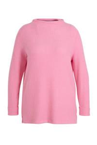 C&A XL Yessica ribgebreide trui roze, Roze