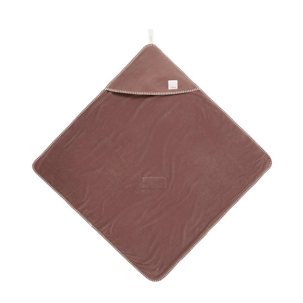 Koeka omslagdoek Riga 100x105 cm cacao, Cacao
