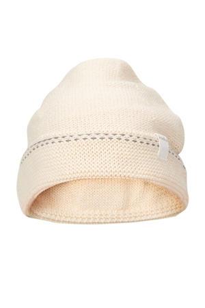 gebreide baby muts Nanuk warm white