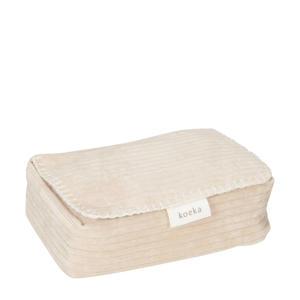 babydoekjes box Vik 12x20 cm zand