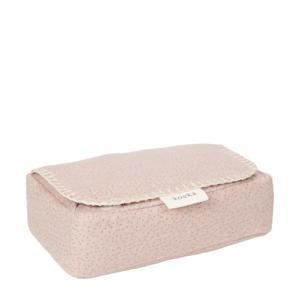babydoekjes box Riga 27x31 cm oudroze