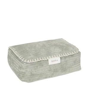 babydoekjes box Vik 12x20 cm groen