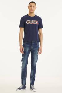 Raizzed skinny jeans Desert mid blue stone, Mid blue stone