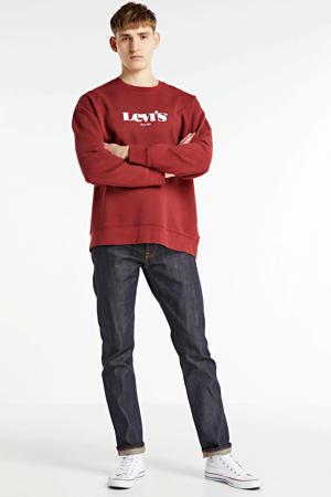 sweater met logo brique