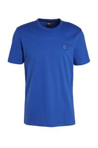 BOSS Casual T-shirt kobaltblauw, Kobaltblauw