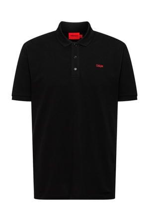 regular fit polo Donos212 zwart