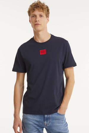 T-shirt Diragolino met logo marine