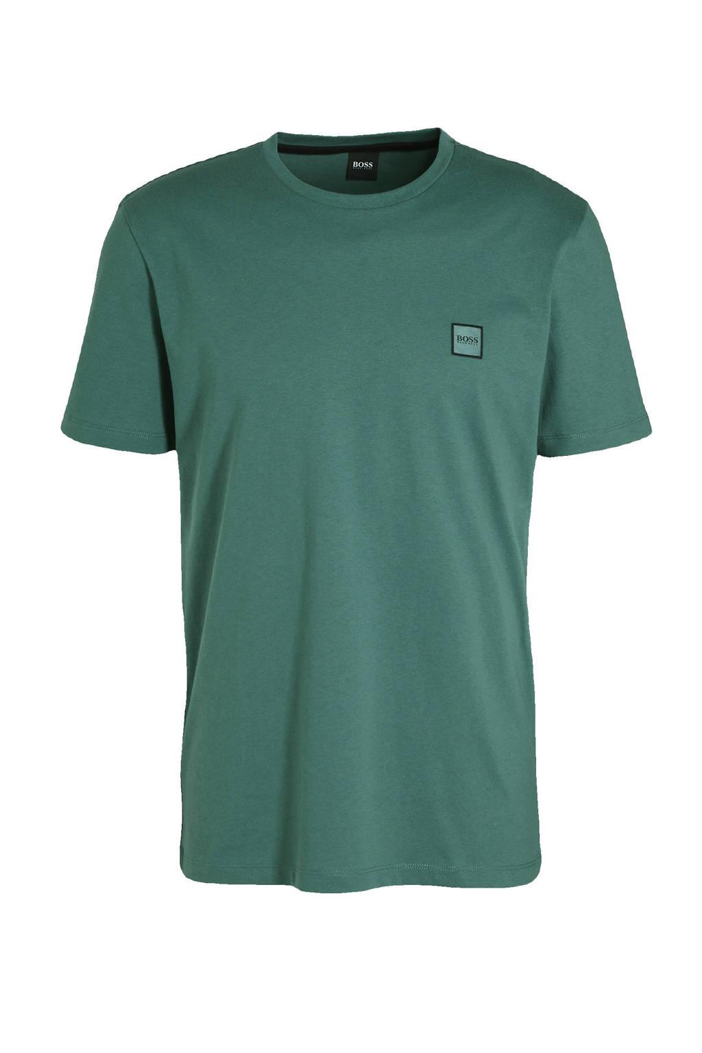 BOSS Casual T-shirt groen, Groen