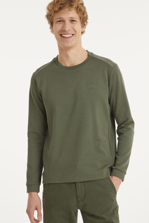 sweater donkergroen