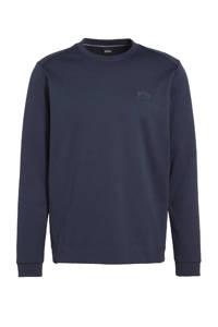 BOSS Athleisure sweater donkerblauw, Donkerblauw
