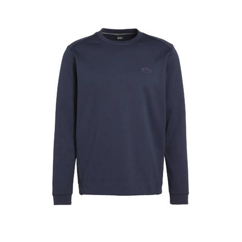 BOSS Athleisure sweater donkerblauw