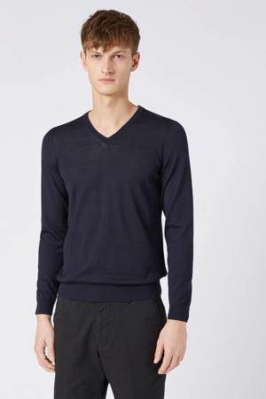 wollen trui donkerblauw