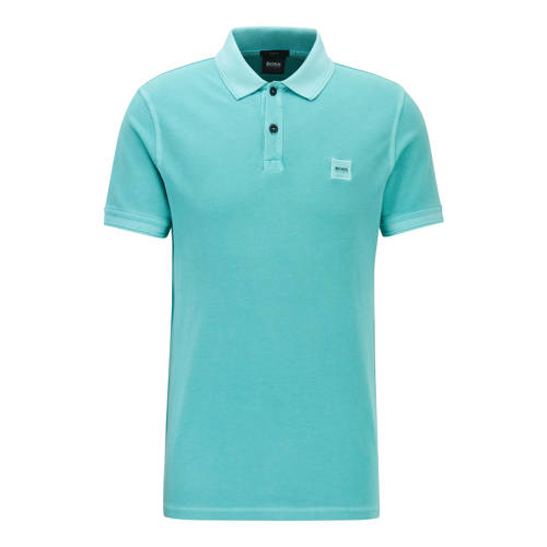 BOSS Casual slim fit polo turquoise