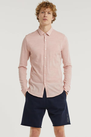 slim fit overhemd roze