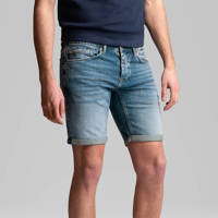 Cast Iron regular fit jeans short mid wash, Mid Wash