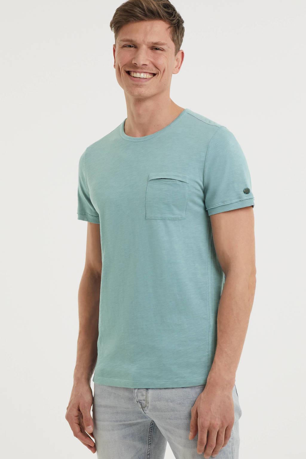 Cast Iron T-shirt blauw, Blauw