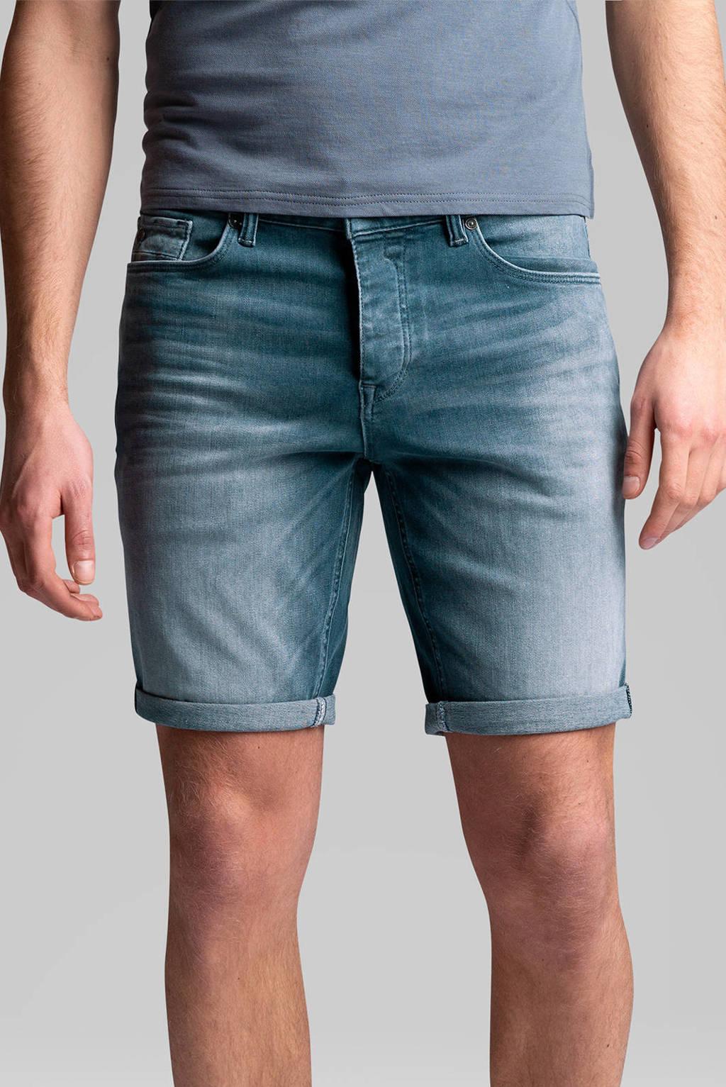 Cast Iron regular fit jeans short Cope grijsblauw, Grijsblauw