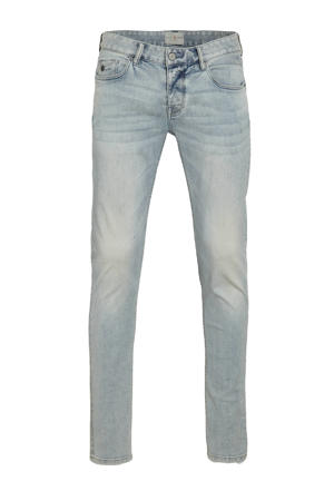 slim fit jeans Riser bright wash