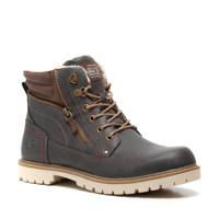 Scapino Blue Box   veterboots antraciet, Grijs/taupe
