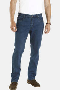 Jan Vanderstorm loose fit jeans Plus Size Almin dark denim, Dark denim
