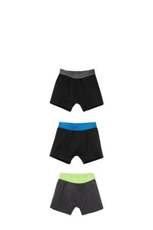 boxershort - set van 3 zwart