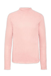 C&A Here & There ribgebreide longsleeve roze, Roze