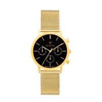 Renard Elite 35.5 Chronograaf horloge RB361YG30YG2 goud/zwart, Goudkleurig