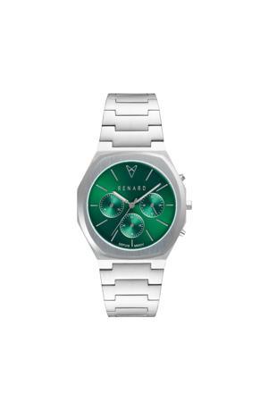 horloge Empereur 39.0  RD161SS80SS3 zilver/groen
