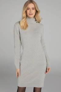 Claudia Sträter jurk met wol chalk, Chalk